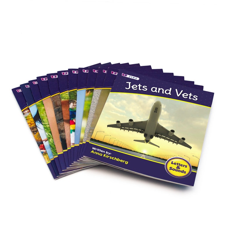 Letters and Sounds Phase 3 Set 2 Non-Fiction - 6 Pack