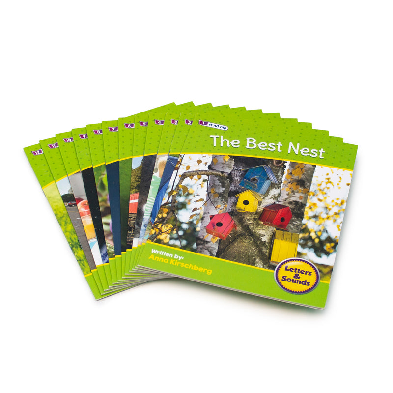 Letters and Sounds Phase 4 Set 2 Non-Fiction - 6 Pack