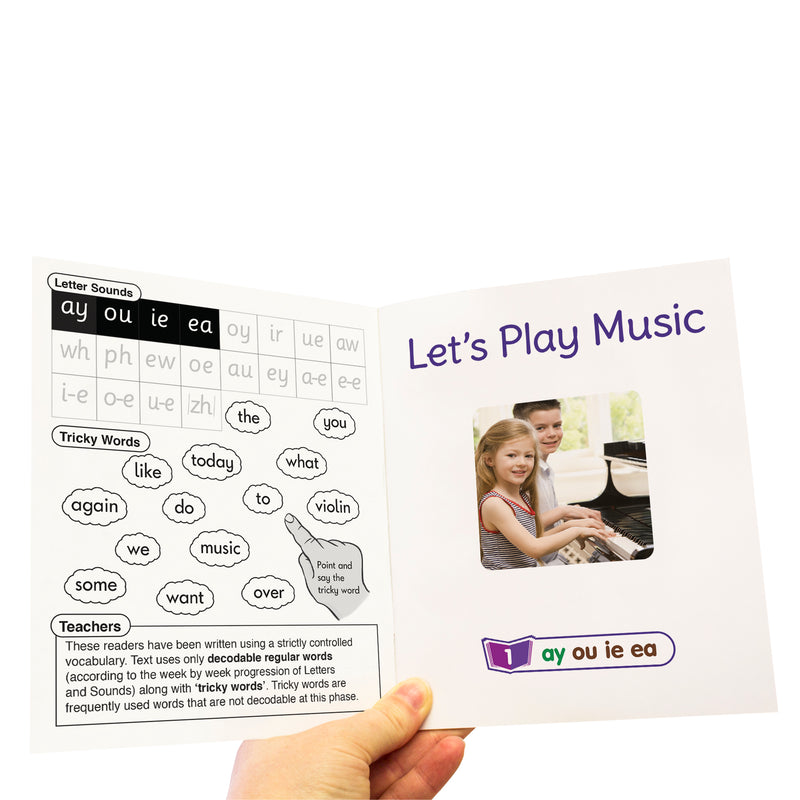 Letters and Sounds Phase 5 Set 2 Non-Fiction - 6 Pack
