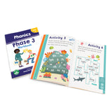 Phase 3 Phonics Workbook - 12 Pack