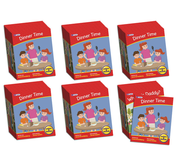 Letters & Sounds Phase 6 Set 2 Fiction - 6 Pack