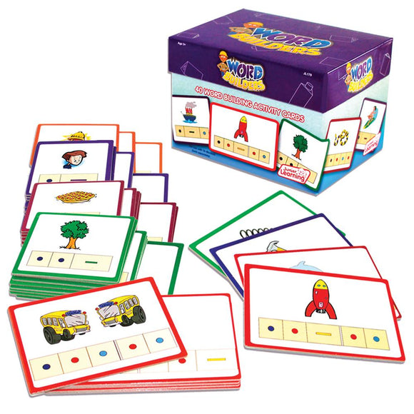 Word Builders Activity Cards