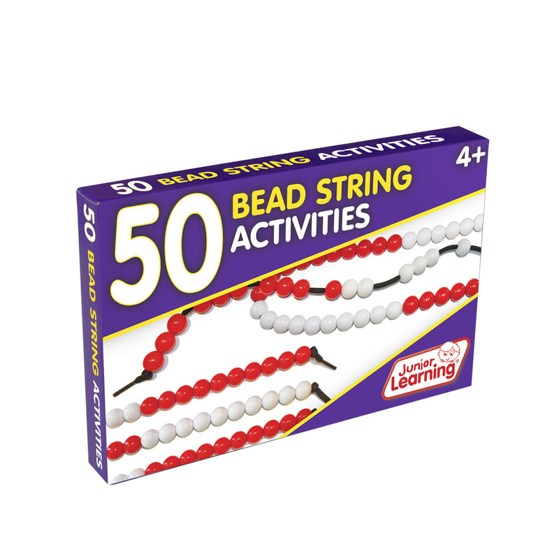 Junior Learning 50 Bead String Activities