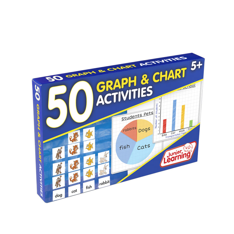 Junior Learning 50 Graph and Chart Activities