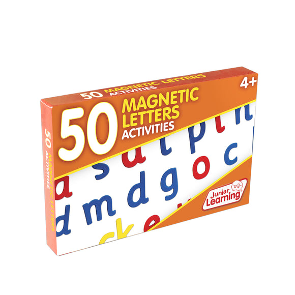 50 Magnetic Letter Activities