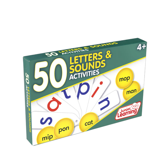50 Letters & Sounds Activities