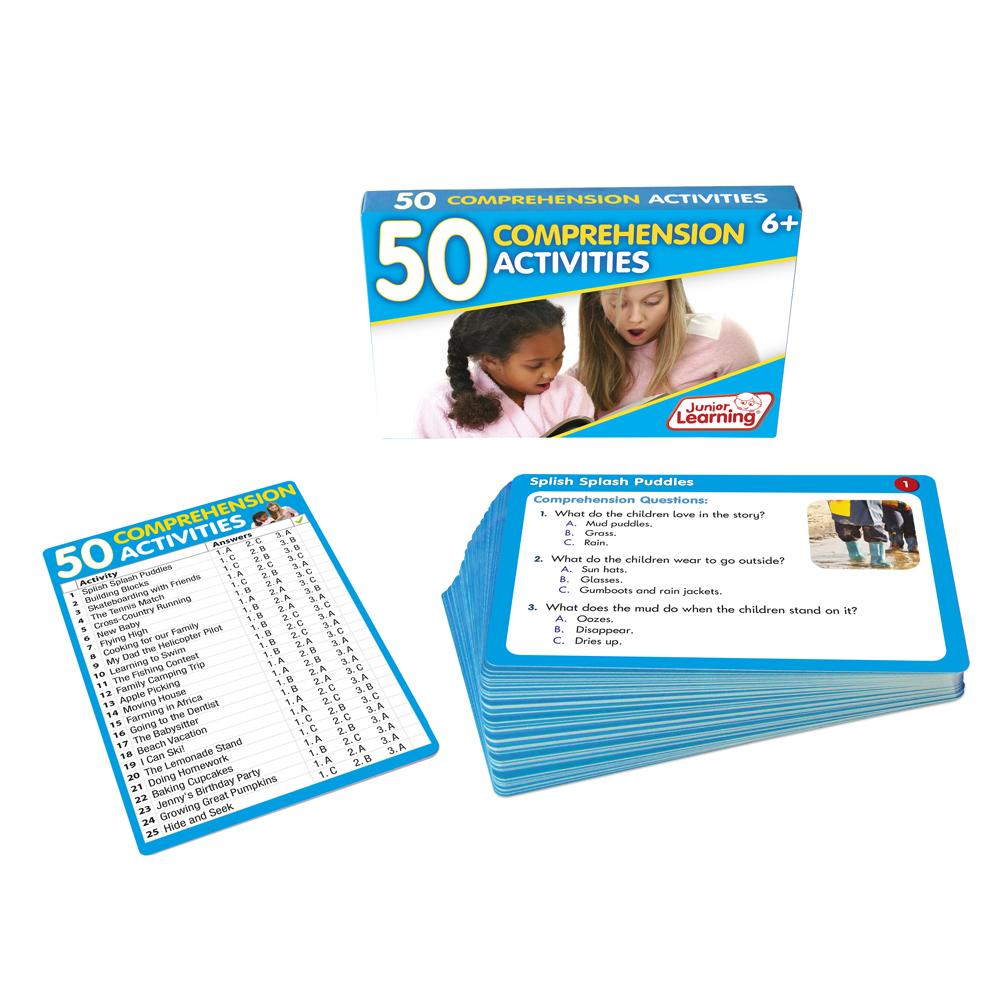 - 50 Comprehension Activities – Junior Learning USA