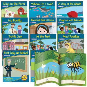 Decodable Readers Phase 1 - Phonemic Awareness Fiction