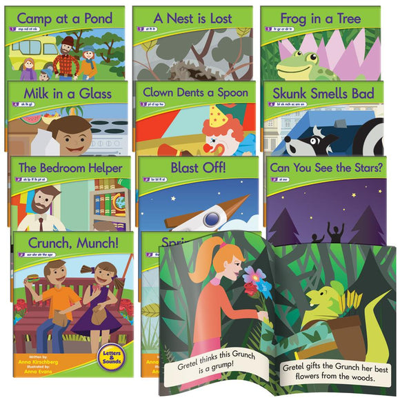 Decodable Readers Phase 4 - Blend Fiction