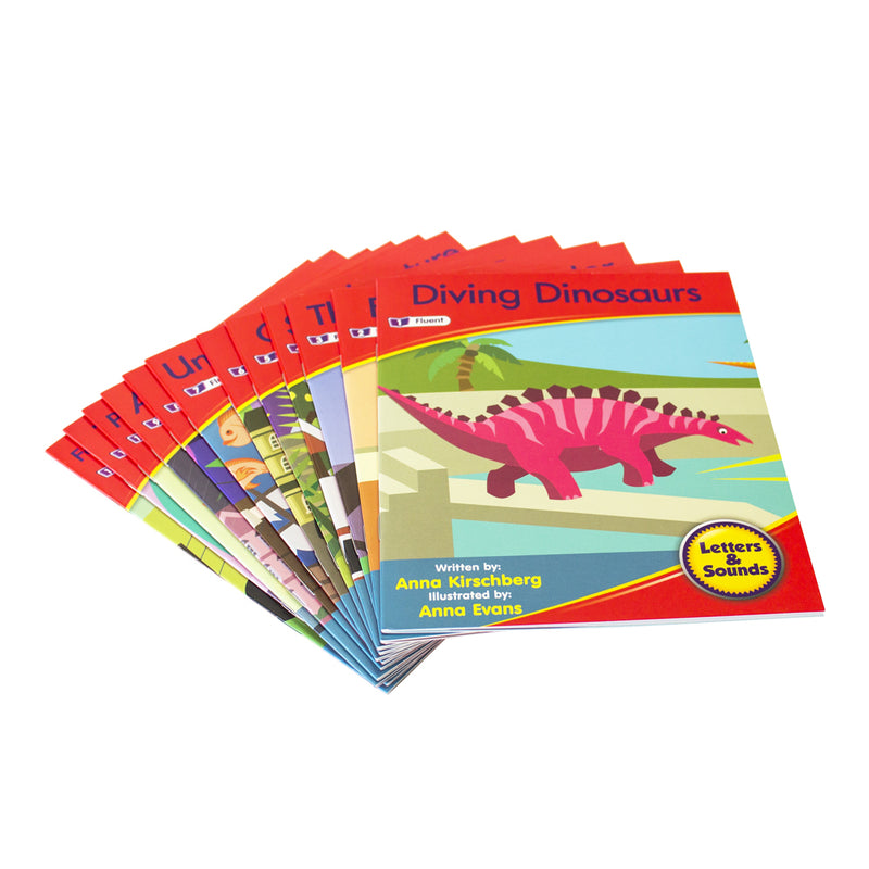 Letters and Sounds Phase 6 Set 1 Fiction - 6 Pack