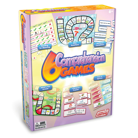 6 Comprehension Games