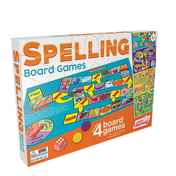 Spelling Board Games