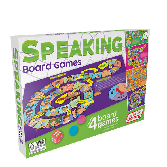 JL424 | Speaking Board Games