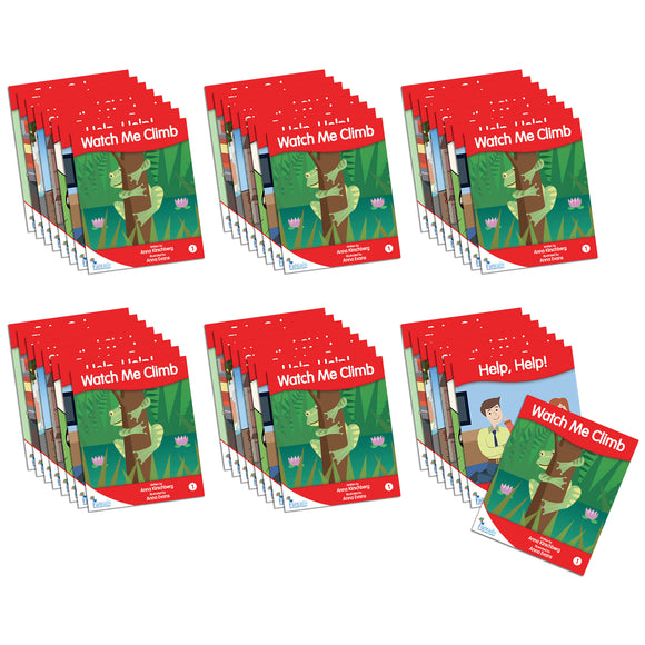 Fantail Readers Level 3 - Red Fiction (6-Pack)