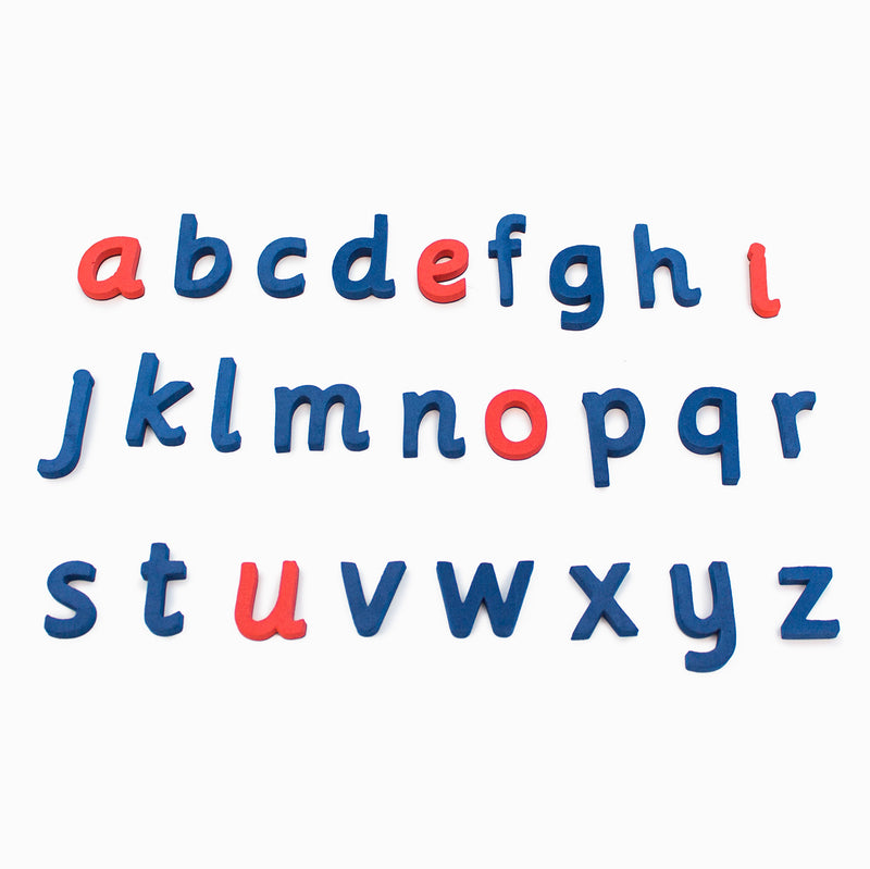 Rainbow Alphabet and Digraphs - Cursive