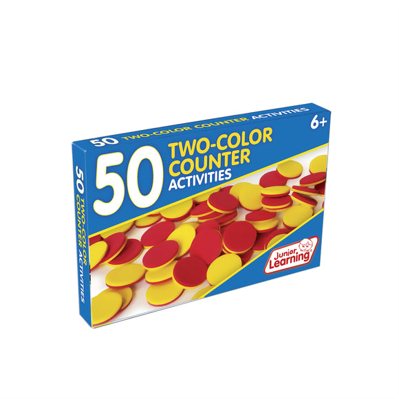 50 Two-Color Counter Activities
