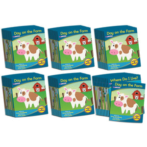Letters & Sounds Phase 1 Set 1 Fiction - 6 Pack