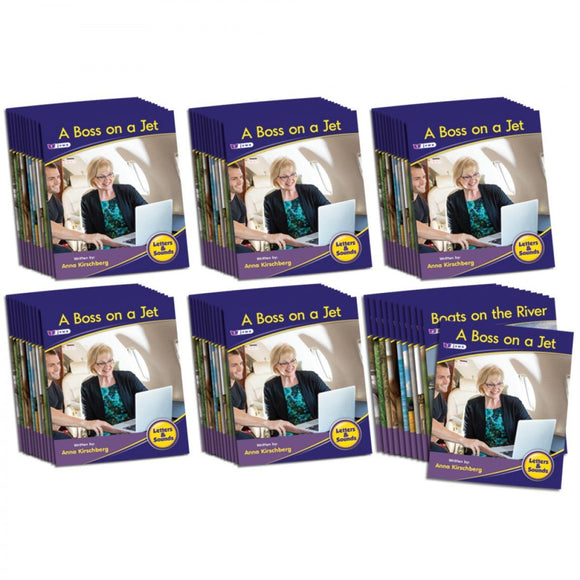 Letters & Sounds Phase 3 Set 1 Non-Fiction - 6 Pack