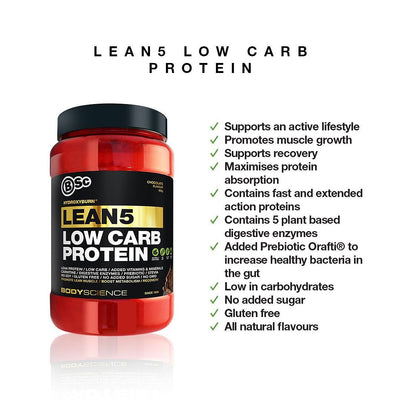 BSc HydroxyBurn Lean5 Low Carb Protein
