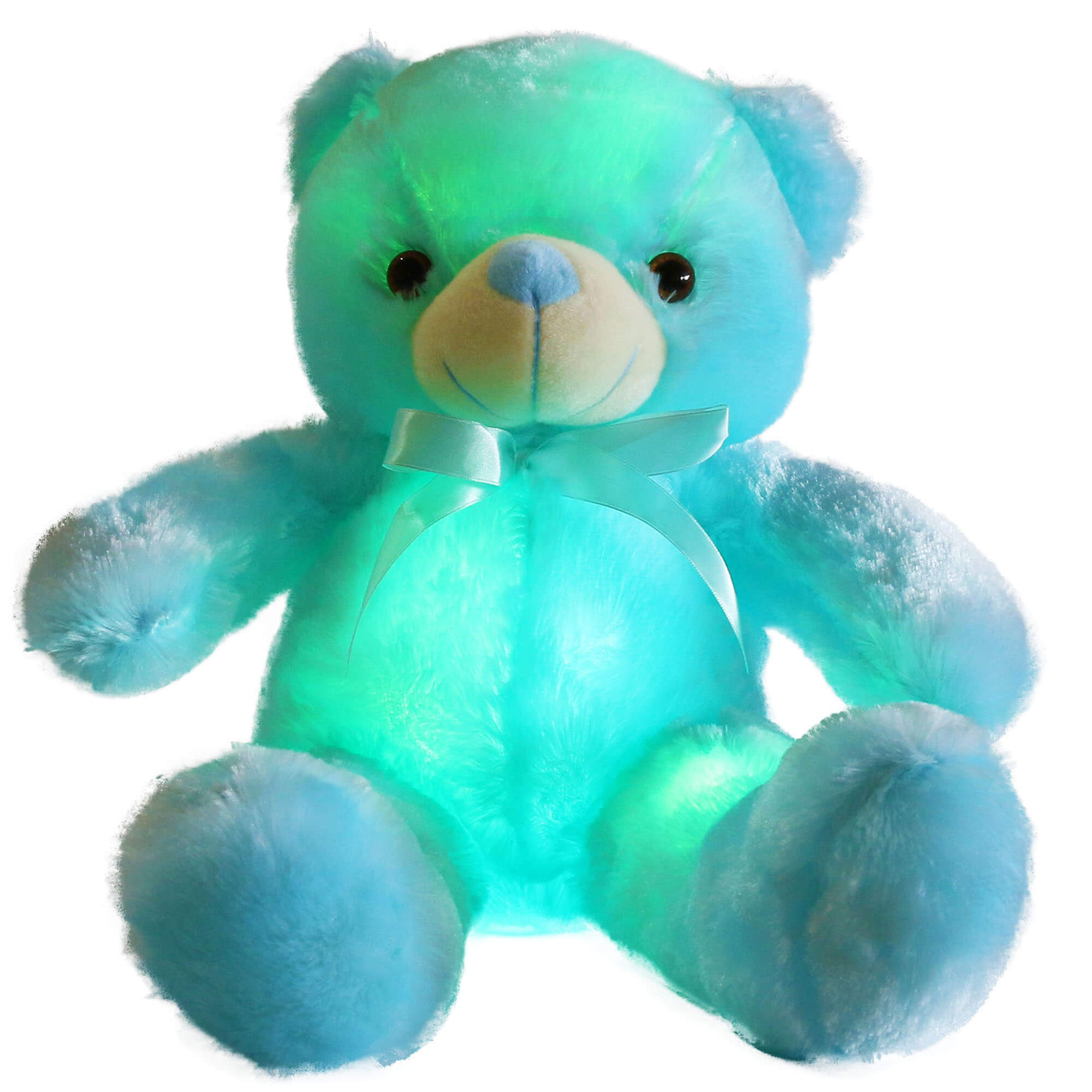 light up teddy bear LED stuffed animals, 20-Inch | Bstaofy - Glow Guards