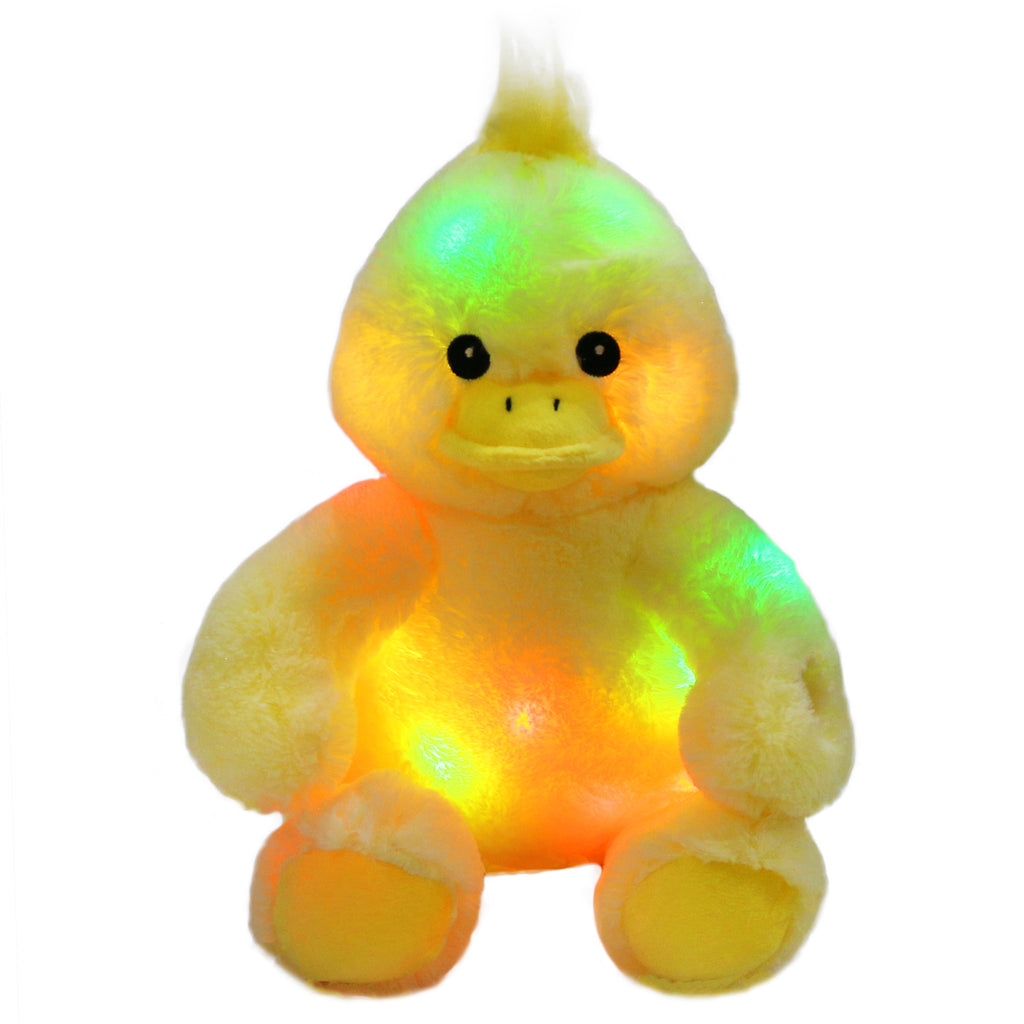 duck stuffed animal light up bedtime toy, 12'' | Bstaofy - Glow Guards