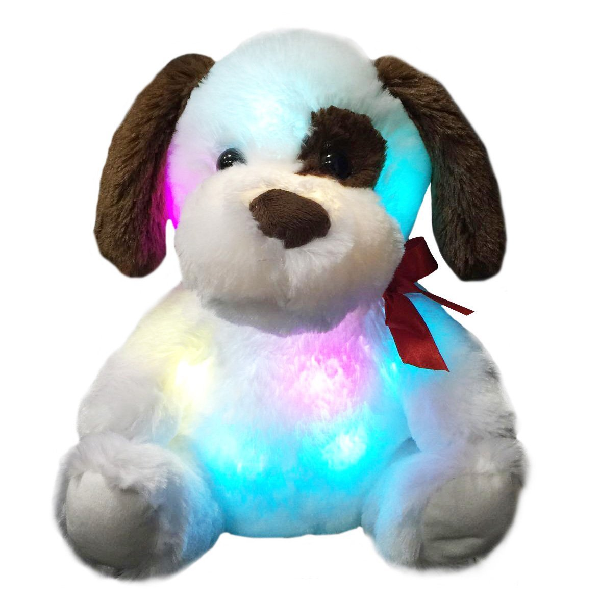light up stuffed dog, 12 Inch | Bstaofy - Glow Guards