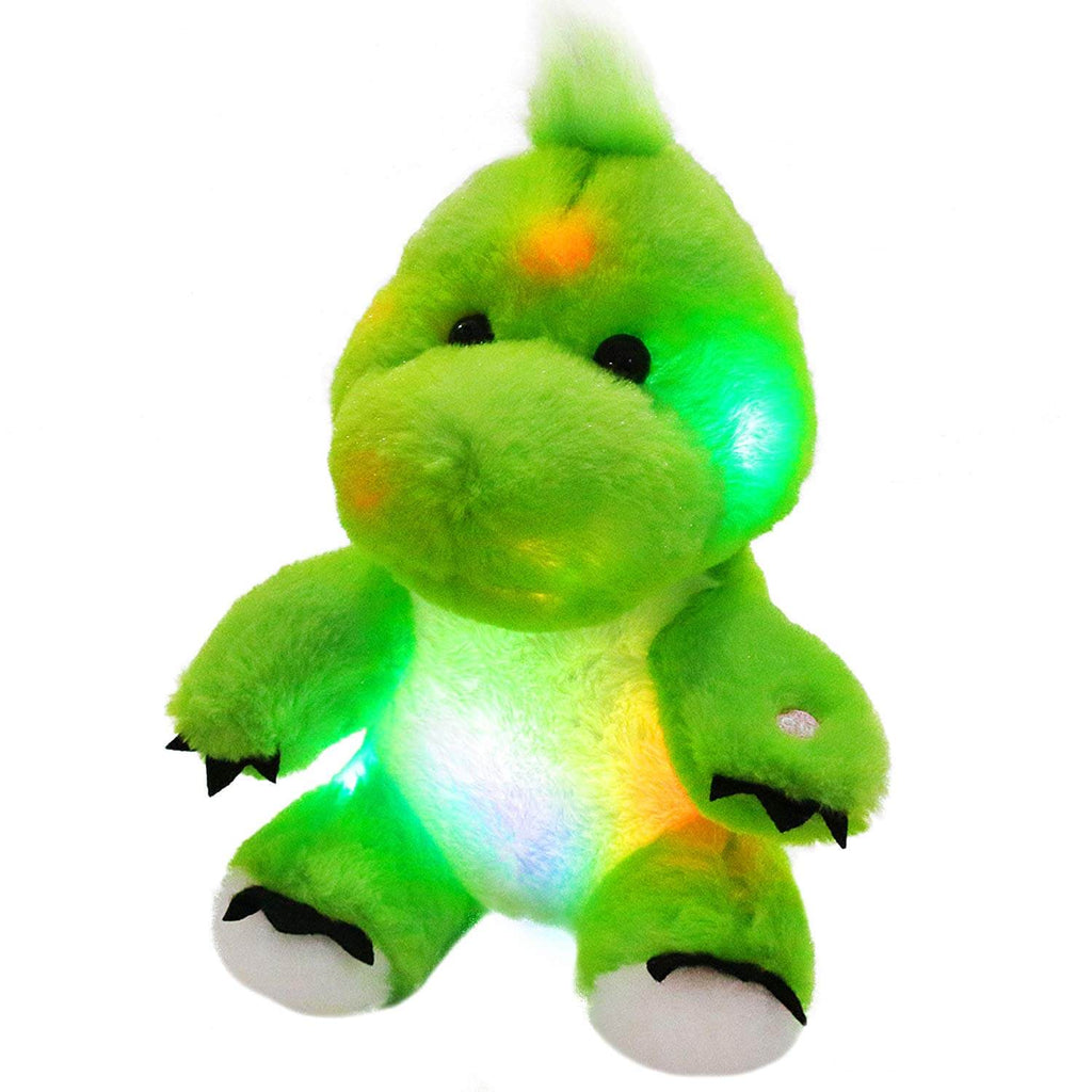 stuffed dinosaur night light glow plush toy, 11'' | Bstaofy - Glow Guards