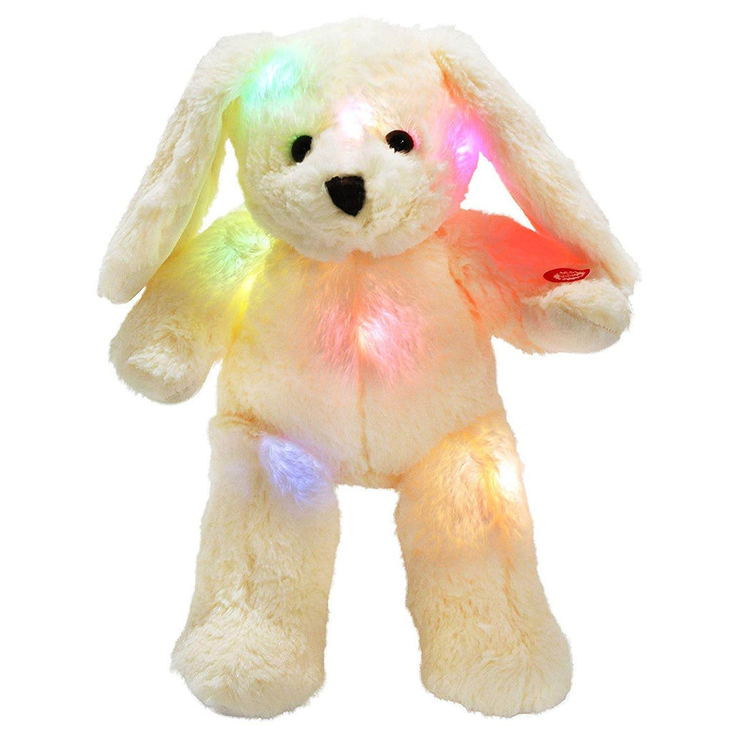 night light bunny floppy plush rabbit toys, 18'' | Bstaofy - Glow Guards