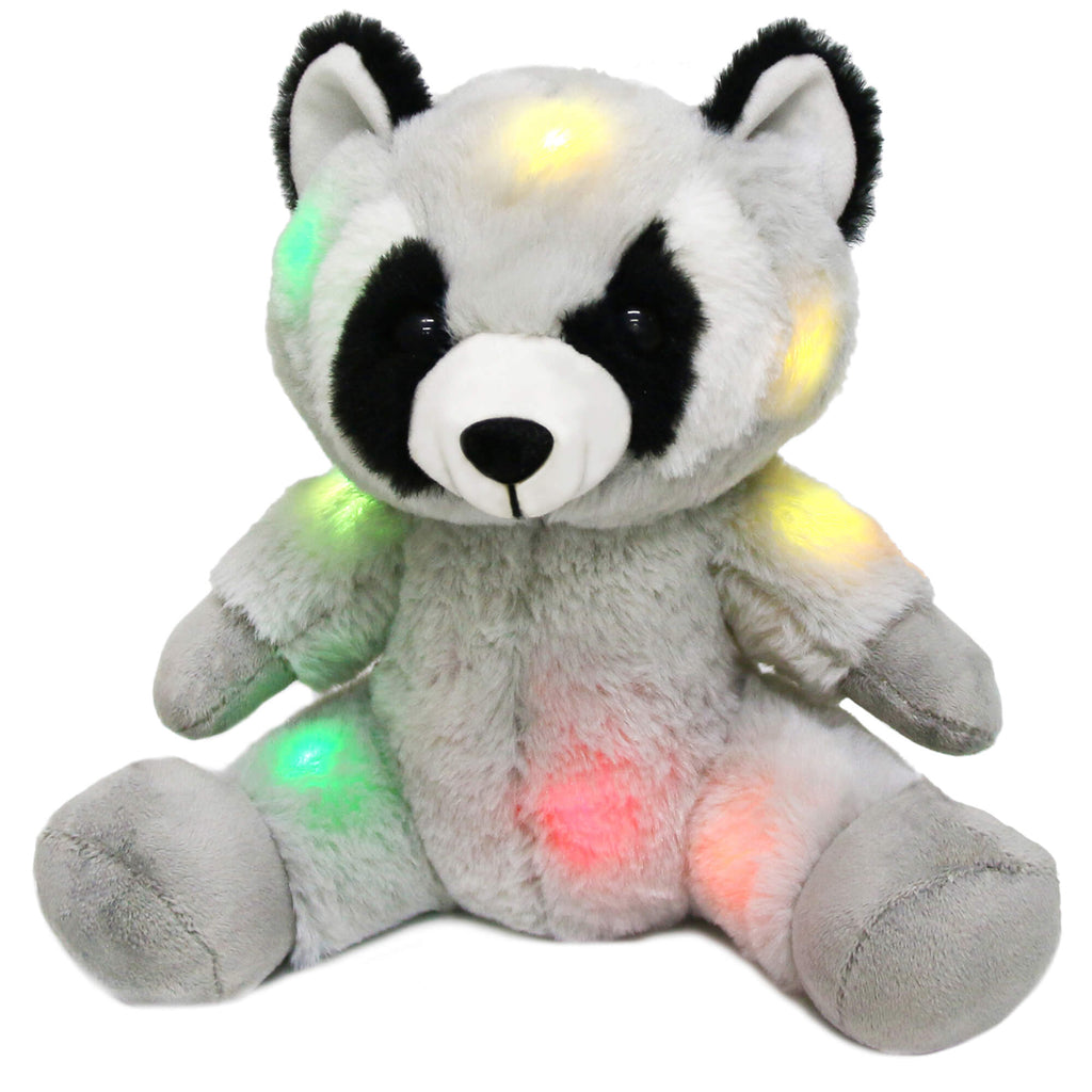 nght light stuffed raccoon, 7.5'' | Bstaofy - Glow Guards
