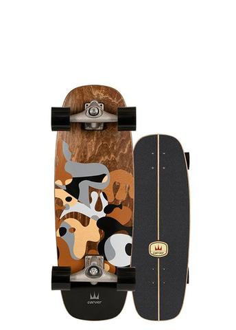 Carver Surfskate Gray Ray 27,5'' CX Complete 2020
