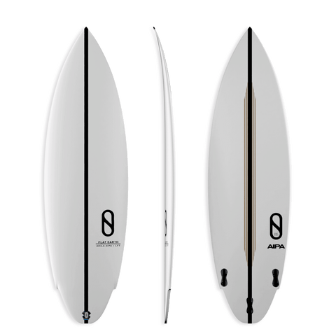 Firewire Slater Designs Flat Earth Akila Aipa LFT 6'2'' Vol 40L Futures Finboxes
