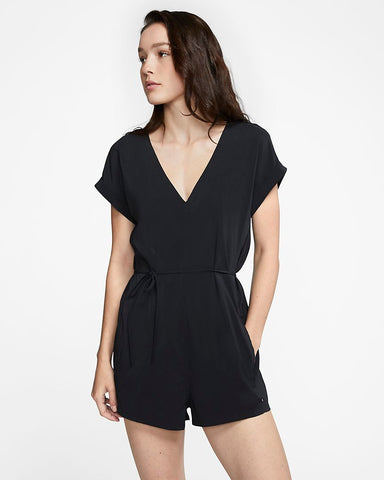 HURLEY Womens Coastal Romper Black