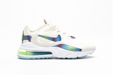 Nike Air Max 270 React Summit White/Platinum Tint/Weiß/Multi-Color