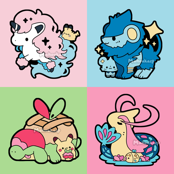 [Preorder] New Pokepins