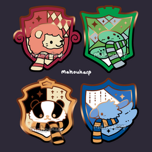 House Enamel Pins