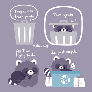 [Print] Recycle Raccoon