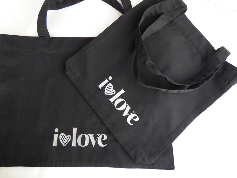 "shopping bag ""ilovelove"" Bright"