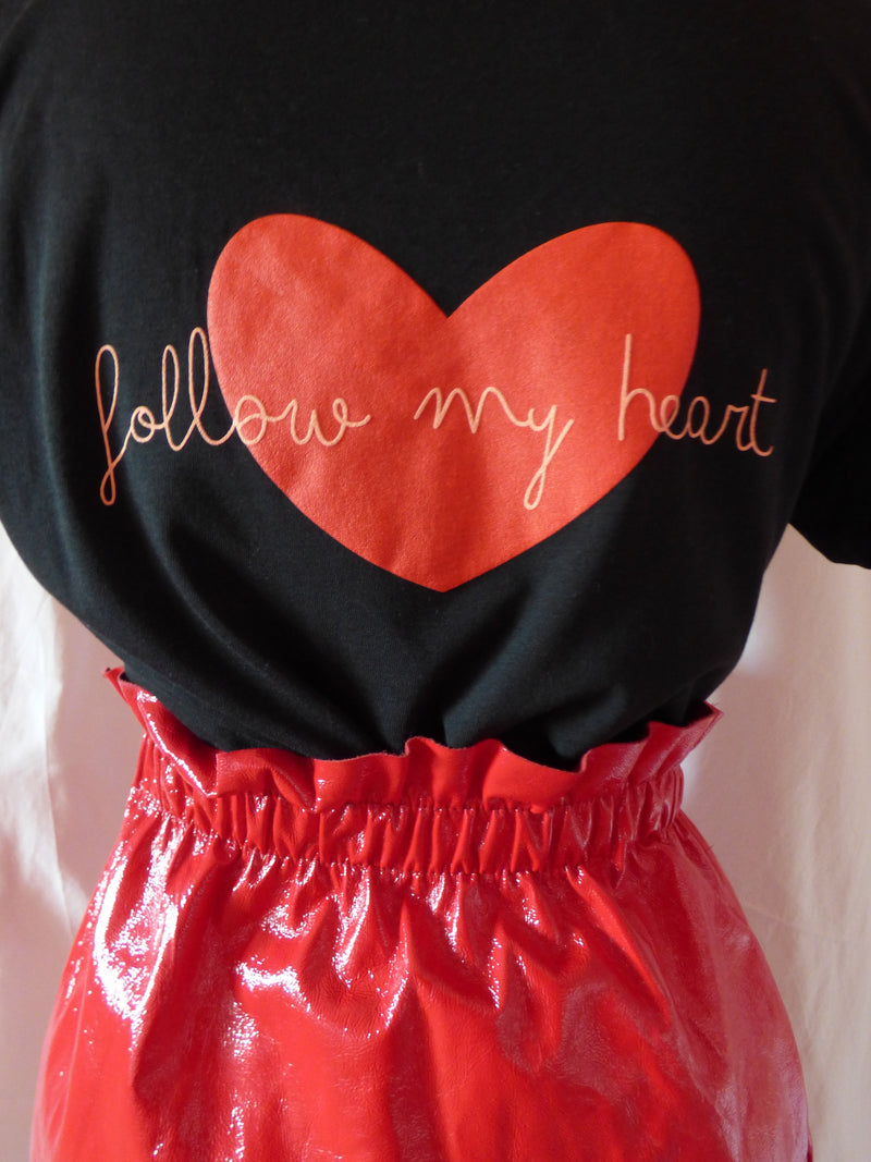 """follow my heart"" negra"
