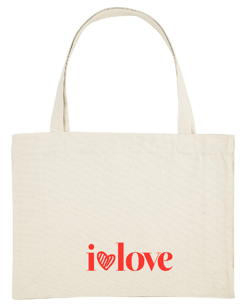 """ilovelove"" Shopping Bag"