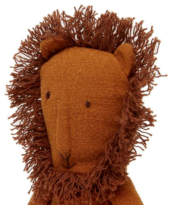 Mini Linen Lion - Moo Like a Monkey