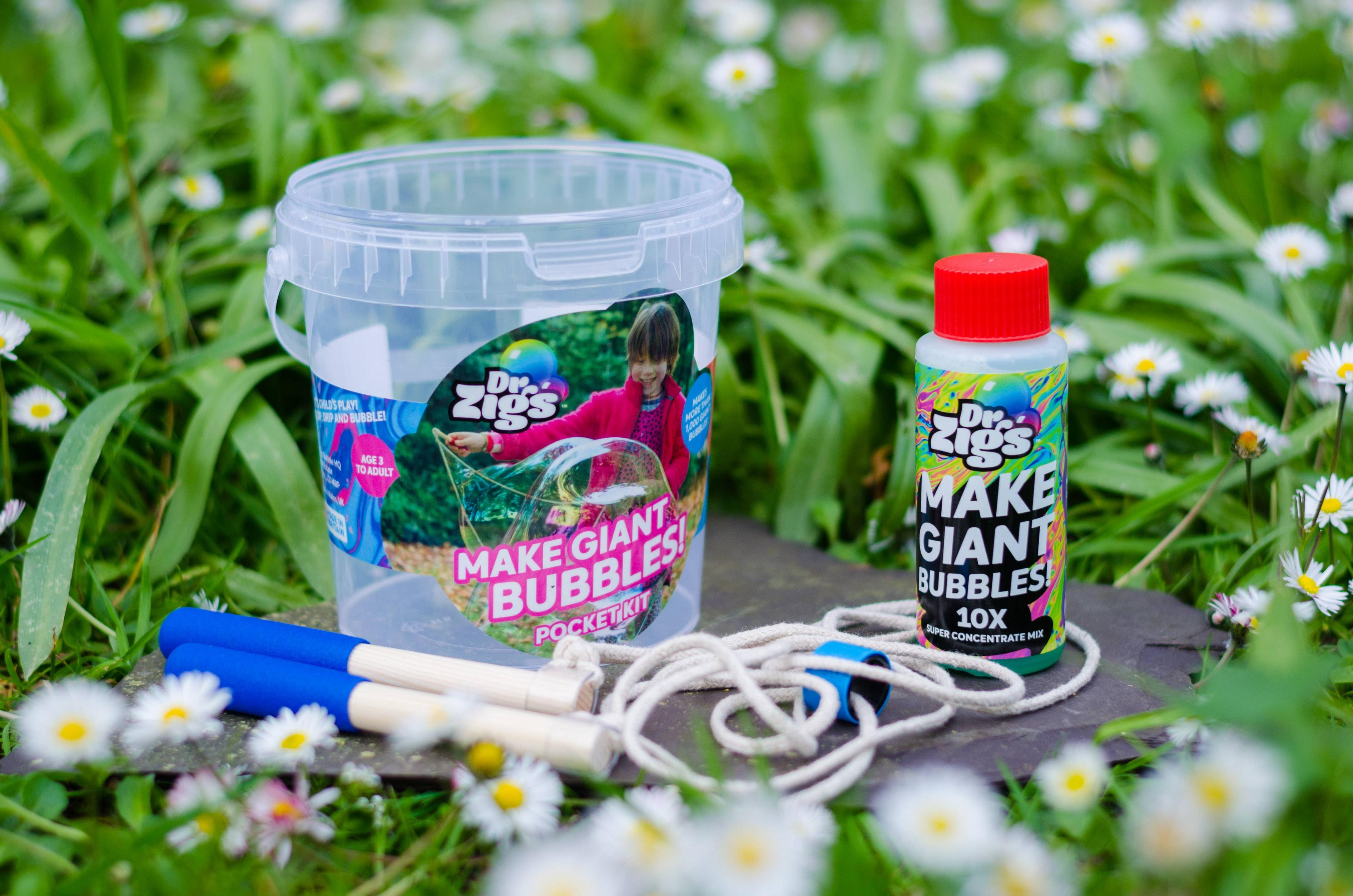 Make Giant Bubbles  - Pocket Kit - Moo Like a Monkey