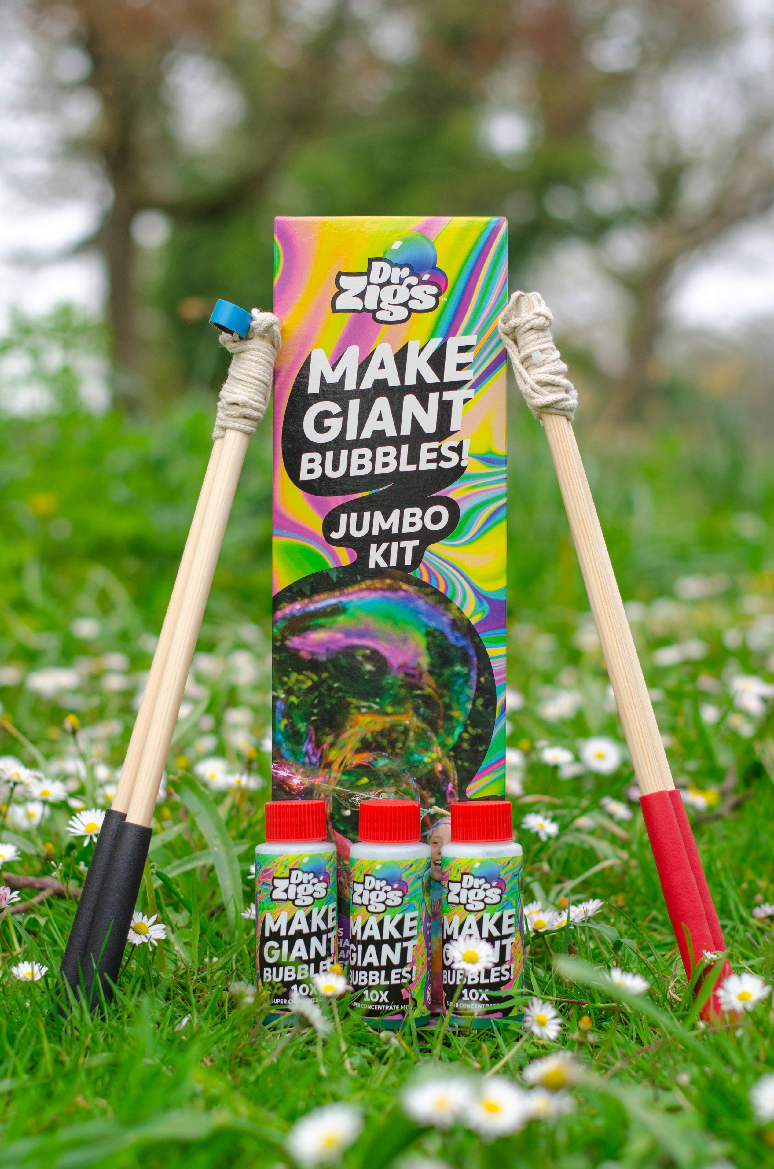 Make Giant Bubbles  - Jumbo Kit - Moo Like a Monkey