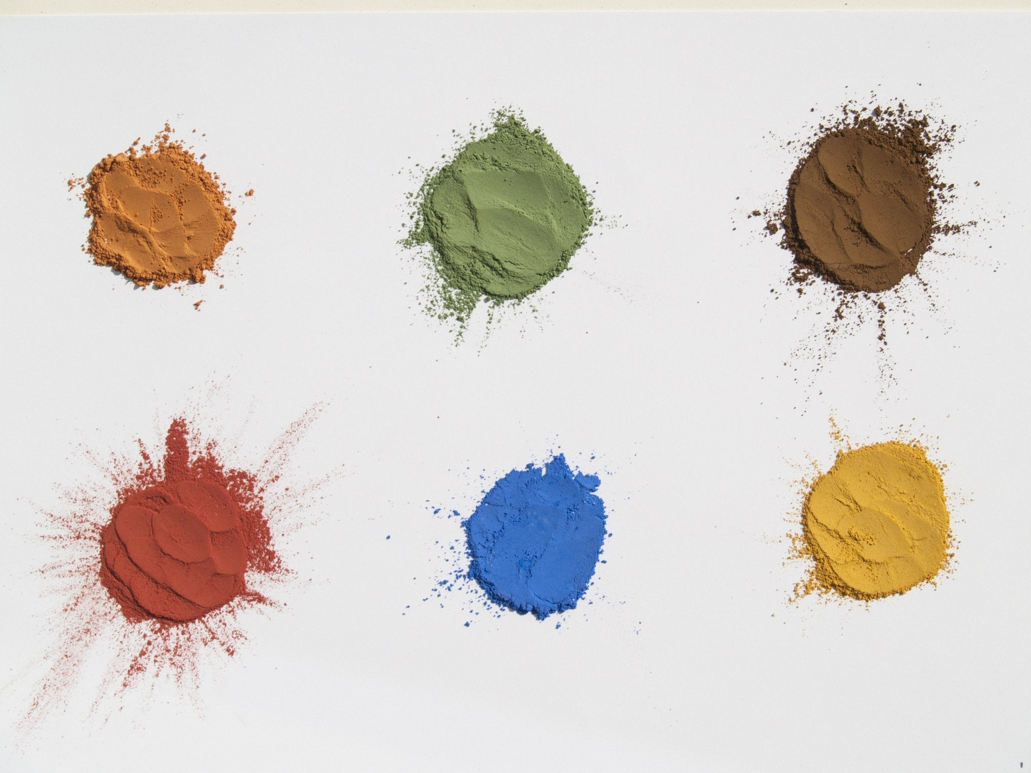 Natural Earth Paint all-natural paint powder 6 colours - Moo Like a Monkey