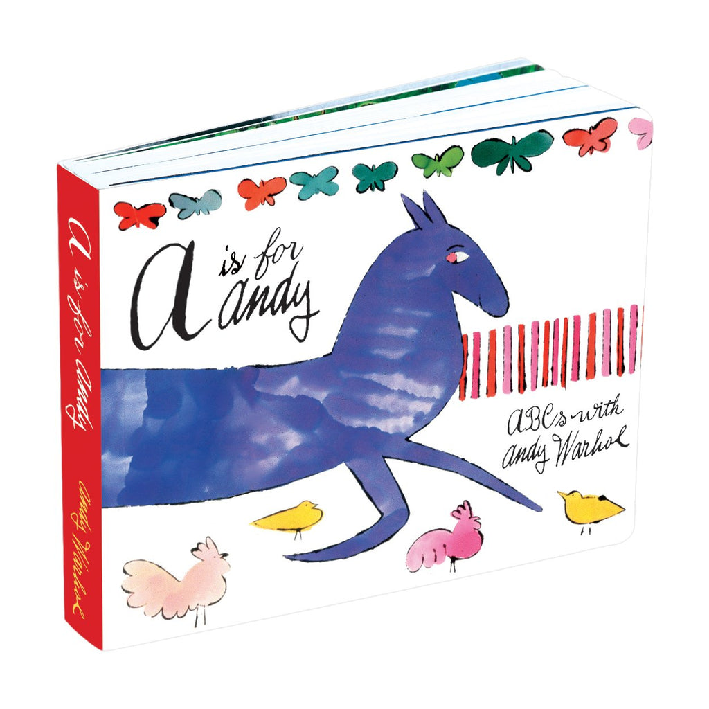 A is for Andy -  ABCs with Andy Warhol Board Book