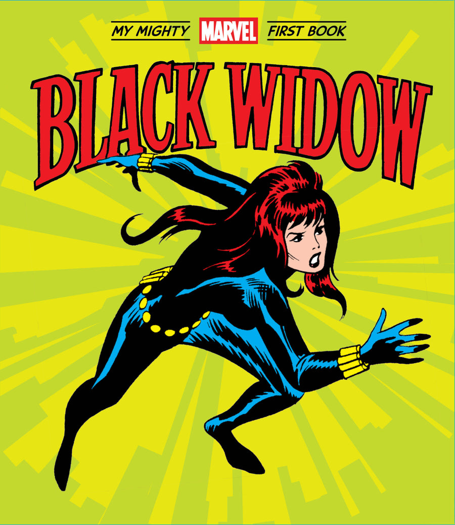 Black Widow: My Mighty Marvel First Book - Moo Like a Monkey