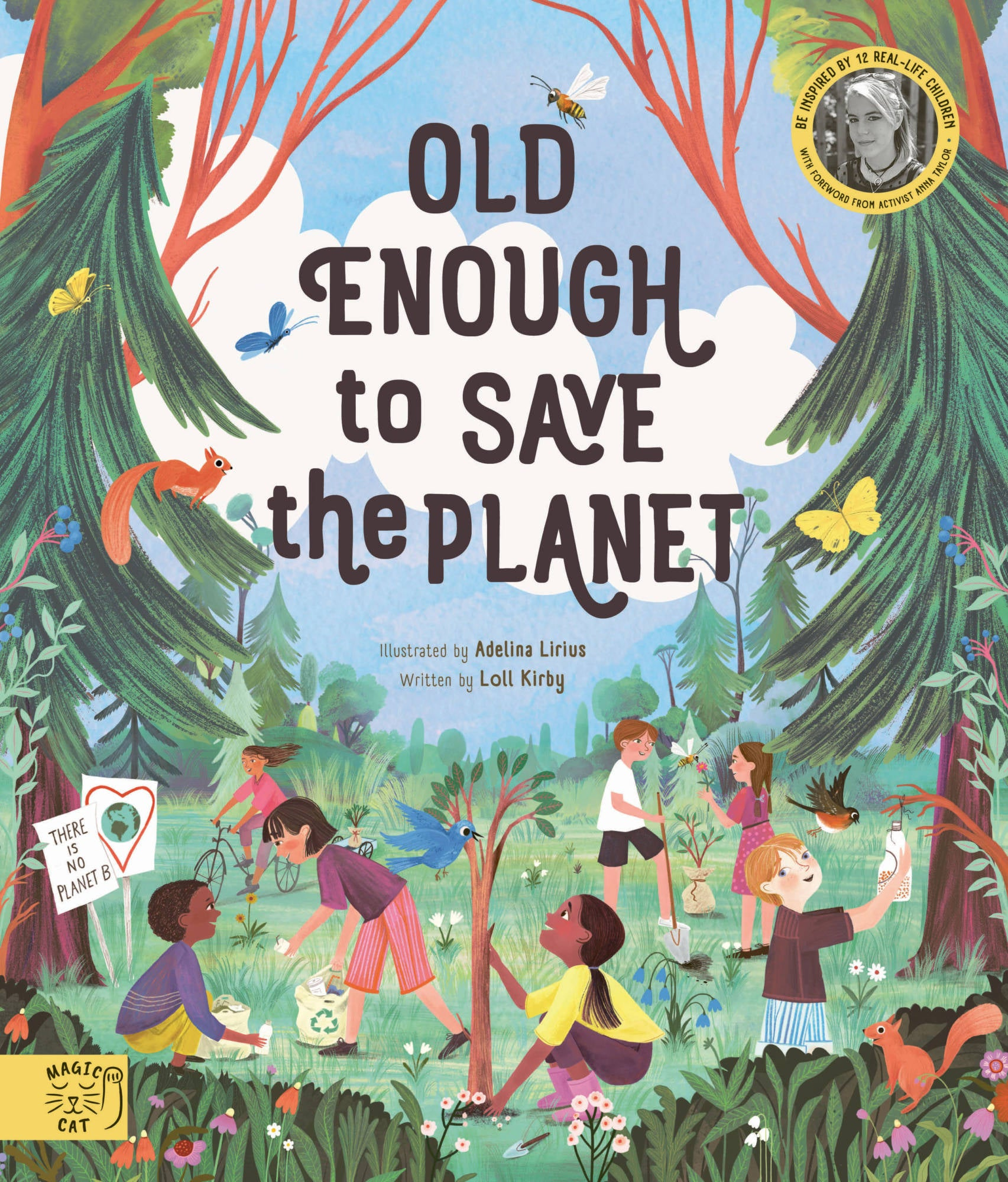 Old Enough to Save the planet - Moo Like a Monkey