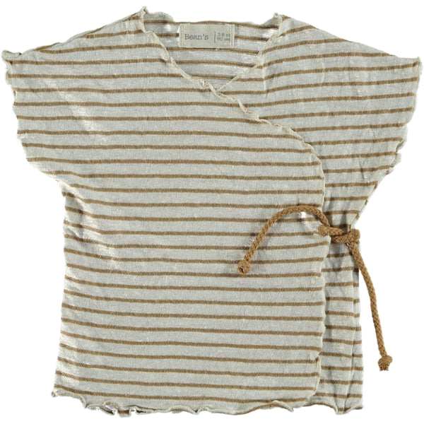 Cotton-Linen T-Shirt Camel