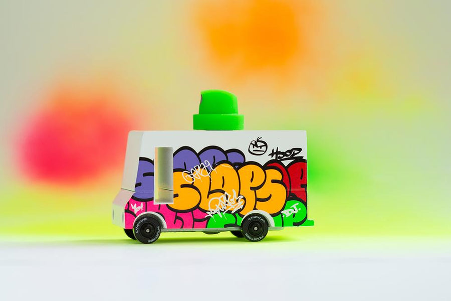 Candy Van - Graffiti Van - Moo Like a Monkey