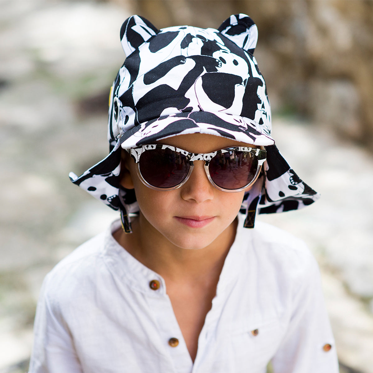 Panda Pop Sun Hat - Moo Like a Monkey