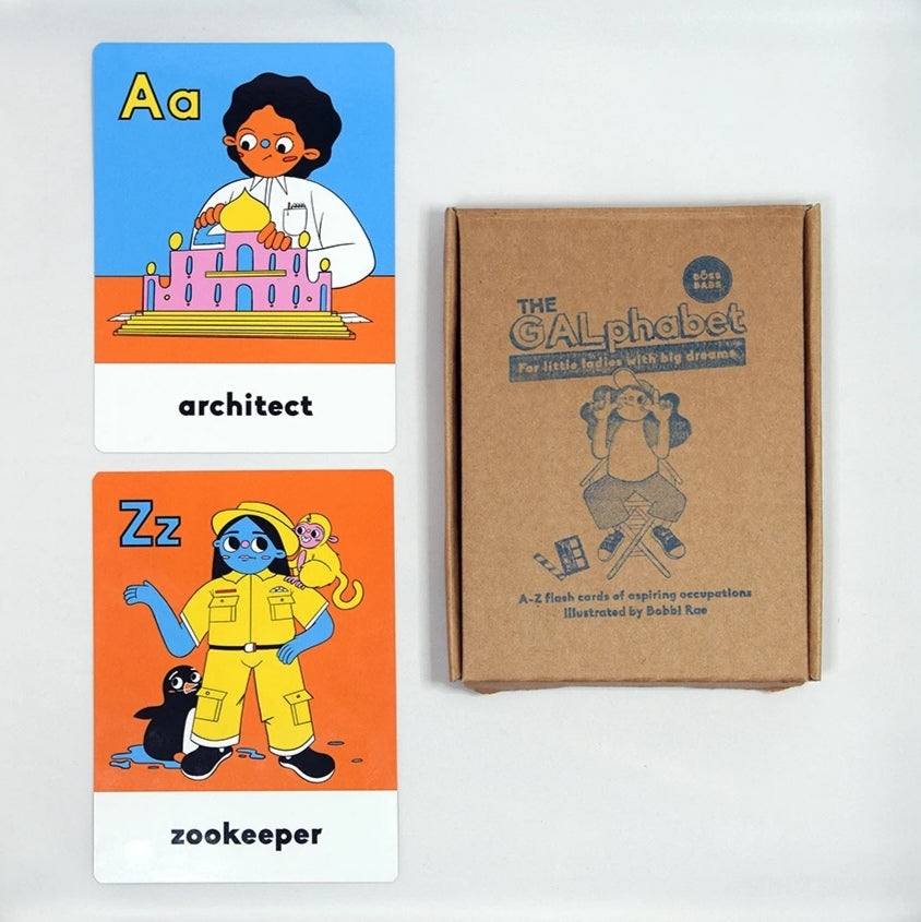 The GALphabet - Flash Cards - Moo Like a Monkey